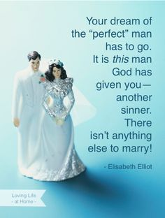 """I Married a Sinner(And so Did He)"" Great story that includes a letter from Elizabeth Elliot!"