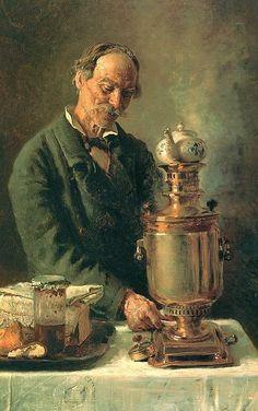 Painted by Konstantin Makovsky ,1839-1915
