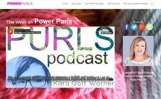 Check out the Power Purls Podcast to Learn about the Business of Knitting