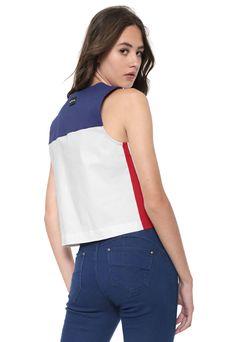 56cb29e0d2b5f0 Camiseta Regata Feminina Calvin Klein Jeans 100% Original Tam. P ...