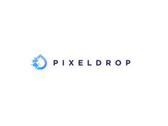 Pixeldrop - logo concept WIP