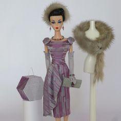 "Handmade Vintage Barbie/Silkstone Fashion by Roxy-""SERENADE"" (MINK & SILK)-13pcs | eBay"