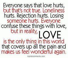 Don't be afraid to love again!
