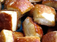 Soft Pretzel Bites Recipe