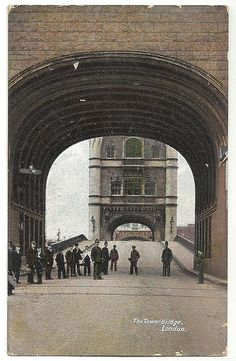 The Tower Bridge, London 1905
