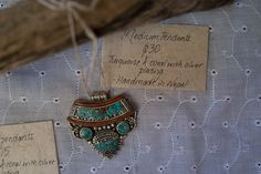 Medium Tibetan pendants $30