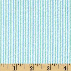 Poly Cotton Print Stripe Big Stripes 60 Inch Pink White Fabric By the Yard F.E.