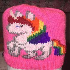 NL crafts: unicorn hat Unicorn Hat, Angel Ornaments, Different Colors, Beanie, Purple, Hats, Red, Hat, Beanies