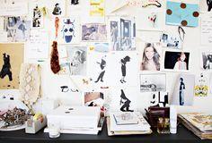 A Sneak Peek Inside Jenna Lyons' Super-Stylish J.Crew Office via @domainehome