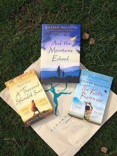 Triple Delight!  And The Mountains Echoed, The Kite Runner and A Thousand Splendid Suns! Written by Khaled Hosseini.  #TheKiteRunner #AndTheMountainsEchoed #AThousandSplendidSuns #readoftheday #currentlyreading #books