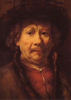 Rembrandt van Rijn - Small Self Portrait - 1657