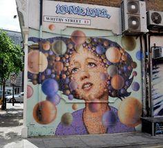 AkajimmyC Street Art in East London