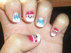 christmas nail art gallery by nails magazine check out wwwmynailpolishobsessioncom for - Christmas Nail Art Gallery