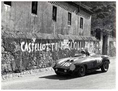 Targa Florio 1955 Ferrari 860 Monza Castellotti