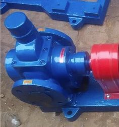 250.00$  Buy now - http://alin48.worldwells.pw/go.php?t=2012664539 - Heat Insulating Oil Arc Gear Pump YCB0.6-0.6G hydraulic pump 250.00$