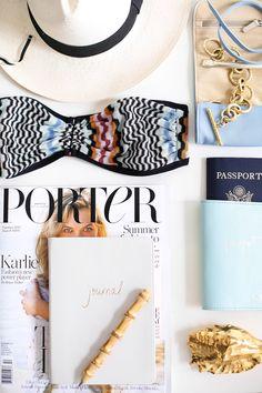 Summer Travel Essentials.
