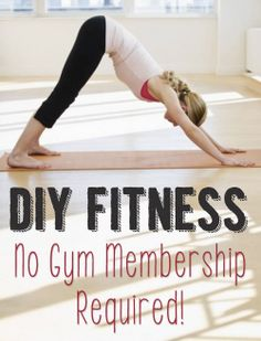 Find your DIY fitness FIT!