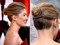 hidden undercut hairstyle - Google Search