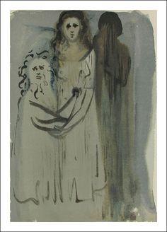 Divina Commedia, Purgatorio, Salvador Dali