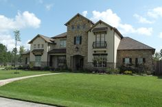 Exteriors Gallery Cribbs, Custom Builders, Earth Tones, Exterior, Mansions, Stone, House Styles, Gallery, Home Decor