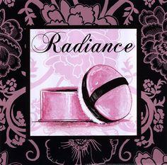 Fashion Pink Radiance by Gregory Gorham art print