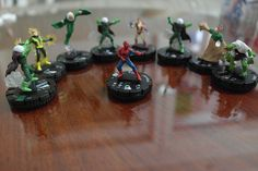 Heroclix! Featured Collector #5 - Alan - Spider-Man & Sinister Six