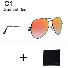 68144d4168c LVVKEE Luxury Classic Brand Men for Women Driving Glass Lens Aviator  Sunglasses