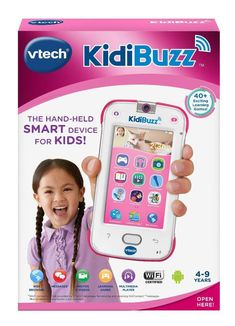VTech Kidibuzz Pink Phone Hand-Held Smart Device with Learning Games Camera. Brand New Sealed Box. Little Girl Toys, Toys For Girls, Kids Toys, Little Girls, Baby Girl Toys, Phone Watch For Kids, Real Phone, Baby Doll Accessories, Accessoires Iphone