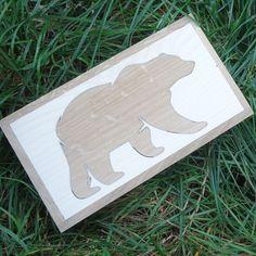 """KADORIS.RO: """"URSA"""" - Casetă din 3 esențe de lemn natur"""