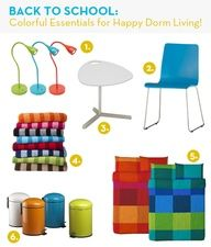 Check out our picks for colorful college / apartment / dorm living!  Some great office and organization tools, too.