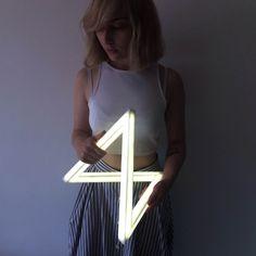 Lucida light Corian and LED light Ushki Design Studio Photo - Talia Janover