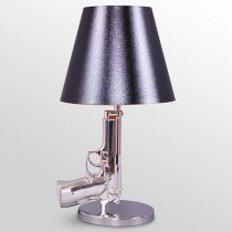 Gun table lamp from The Foundary on sale for $288 today