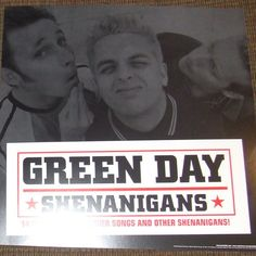 Green Day - Shenanigans - Album Cover Poster Flat