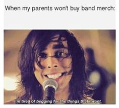 Haha yes! That or I just drag my mom in Hot Topic xD