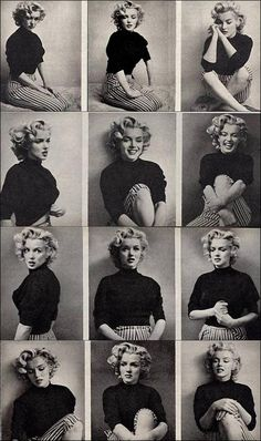 Marylin Monroe A collage of Ms Marilyn Monroe images. Acting.A collage of Ms Marilyn Monroe images. Acting.