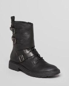 Belle by Sigerson Morrison Combat Booties - Victoria  Bloomingdale's