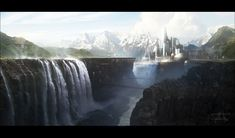 Silver Falls by Grivetart