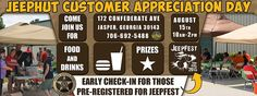 """Come on out and join us for our Annual Customer Appreciation Day. We wouldn't be here if it were not for our customers and we want to say """"Thank You"""".  We will have raffles, food, drinks, music and more. So join us for some fun."""