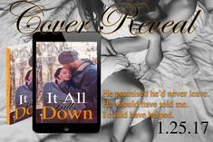 COVER REVEAL - It All Falls Down by M. Dauphin @AuthorMDauphin    It All Falls Down  M. Dauphin  Front Cover Image: Reggie Deanching @RplusMPhoto  Models: Blake Sevani and Gina Sevani  Designer: Inked Imprints  Synopsis:  He promised he'd never leave. He should have told me. I could have helped. Max came into my life when I didnt need a man to define me. He didnt push his way in... not really. He slowly tirelessly and patiently waited. He used that damn smile day in and day out and waited…