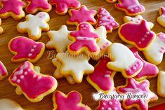 Fursecuri de Craciun cu glazura Cake Recipes, Biscuits, Ice Cream, Sugar, Food Cakes, Cookies, Desserts, How To Make, Life