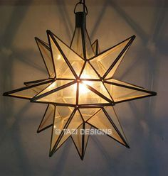star shaped outside porch light - Google Search
