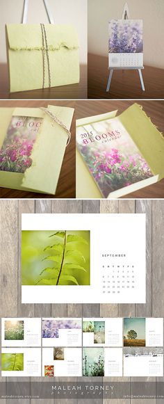 2015 nature and flower photography calendar ready to gift in a beautiful handmade artison paper portfolio, made of 100% recycled cotton fiber with a natural deckle edge. https://www.etsy.com/listing/202223403/2015-photo-calendar-flower-photography?ref=shop_home_active_1  #gift #2015 #calendar #photocalendar #photo #stockingstuffer #homedecor
