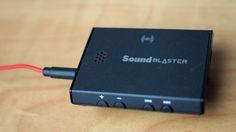 MEGATech Reviews: Creative Sound Blaster E3 USB DAC and Headphone Amplifier - MEGATechNews Creative Sound, Sound Blaster, Smartphone, Headphones, Usb, Headpieces, Ear Phones