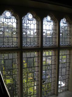 Mullioned window, Cabra Castle, Ireland