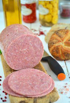 """Mielonka (zwana też """"luncheon meat"""") z szynkowara - MniamMniam.pl"""
