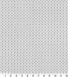 Quilters Showcase Cotton Fabric-Geo Gray