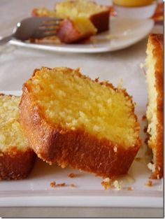 Orange cake, easy and fast - Essen: Backen - Dessert Sweet Recipes, Cake Recipes, Dessert Recipes, Food Cakes, Cupcake Cakes, Cake Fondant, Cupcakes, Gateau Cake, Cake Cookies