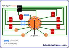 basic guitar varitone diagram electric guitar mods pinterest rh pinterest com Varitone Switch Wiring gibson varitone wiring diagram