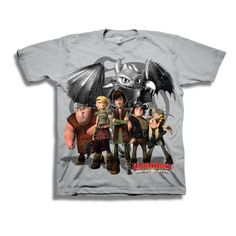 How To Train Your Dragon T-Shirt - TshirtMall.com