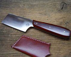 Custom Oyster Knife Shucker and Sheath by TidalToolsandLeather